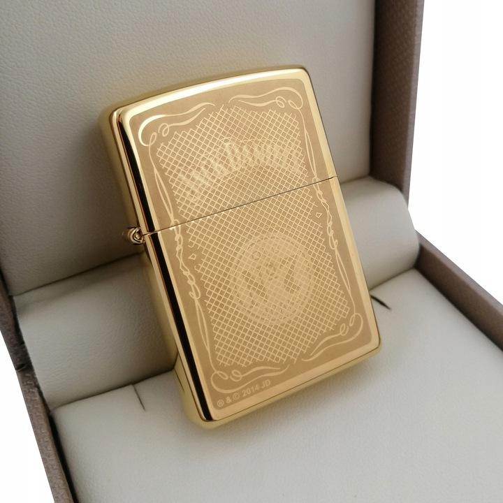 Złota zapalniczka Jack Daniel's 24karaty